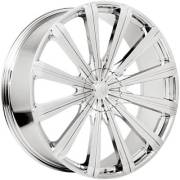 Borghini B18 Chrome Wheels