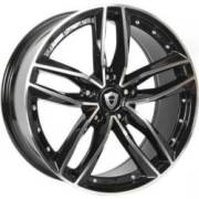 Capri 5228 20x8.5 Black Machined Wheels