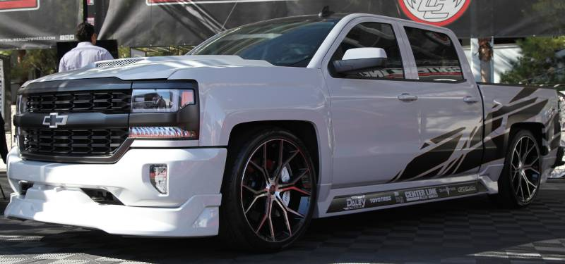 Center Line Slingshot Wheels for Chevy Trucks