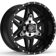 Center Line LT2MB Machined Black Wheels