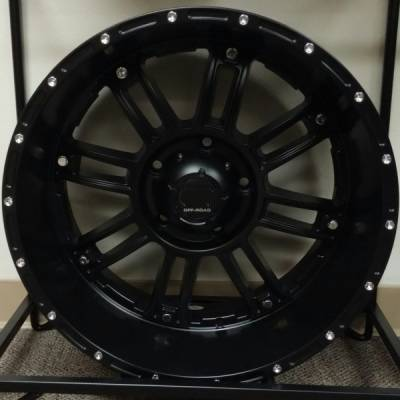 Full Throttle Off-Road 8033 Matte Black Wheels