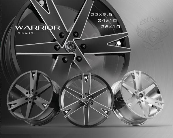 Gima G13 Warrior Wheels