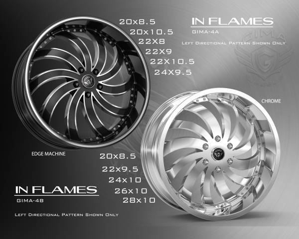 Gima In Flames Wheels