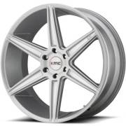 KMC KM712Brushed Silver Wheels