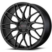 KMC KM713 Alkaline Phantom Black Wheels