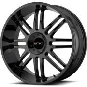KMC KM714 Regulator Gloss Black Wheels