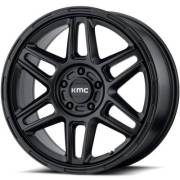 KMC KM716 Nomad Satin Black Wheels