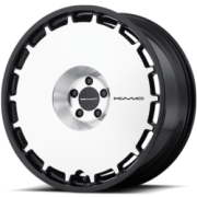 KMC KM689 Skillet Brushed Satin Black Wheels