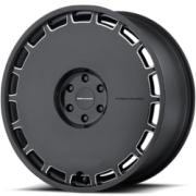 KMC KM689 Skillet Satin Black Wheels
