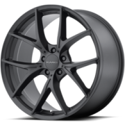 KMC KM694 Wisbone Satin Black Wheels