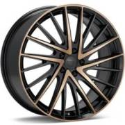 KMC KM697 Newton Black Machined Dark Tint