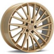 KMC KM697 Newton Gold Wheels