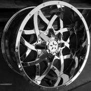 Movement 1011 Chrome Wheels