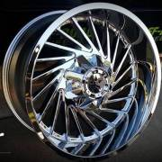 Movement 1033 Chrome Wheels