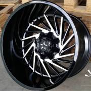 Movement 1033 Black Machined Wheels