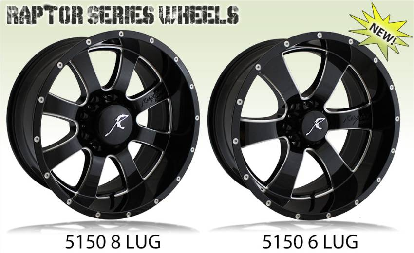 Raptor Series 5150 Wheels