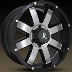 Remington 8-Point Machined Black Wheels