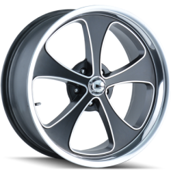 Ridler 645MB Matte Black Wheels