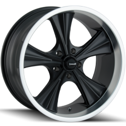Ridler 651 Matte Black Wheels