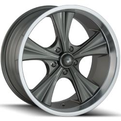 Ridler 651G Grey Wheels