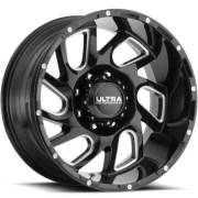 Ultra 221 Carnage Gloss Black Satin Clear